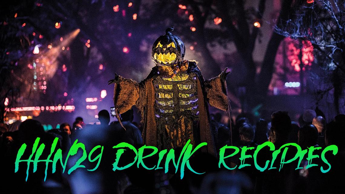 HHN29 Drink Recipies