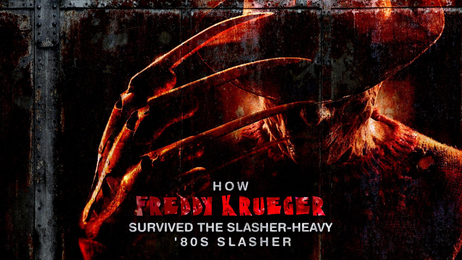 HORRORWOOD™ Presents... 'How Freddy Krueger Survived the Slasher-Heavy '80s Slasher'