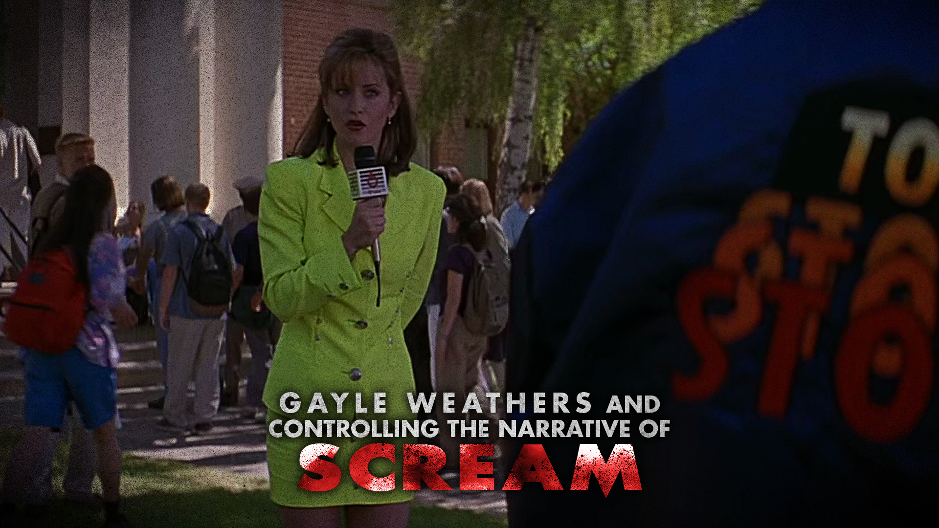 HORRORWOOD™ Presents... 'Gayle Weathers and Controlling the Narrative of 'Scream''