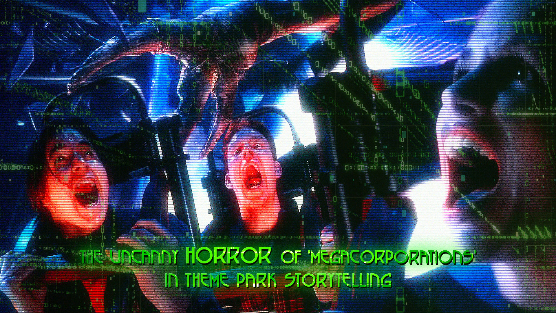 HORRORWOOD™ Presents... 'The Uncanny Horror of 'Megacorporations' in Theme Park Storytelling'